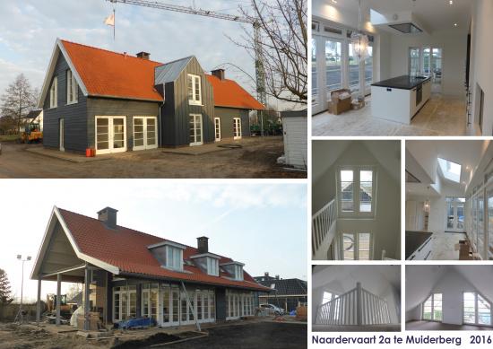 Nieuwbouw Villa aan de Naardervaart te Muiden
