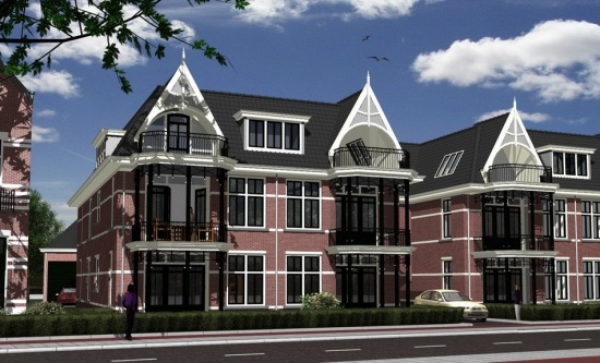 Nieuwbouw appartementen te Hilversum