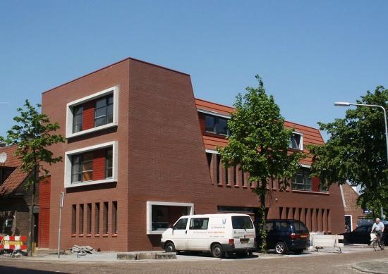 Nieuwbouw van 6 appartementen te Hilversum