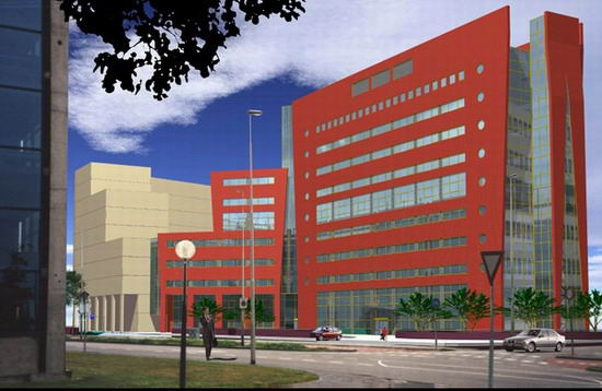 Nieuwbouw kantoorgebouw Leeuwarden