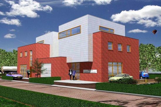 Nieuwbouw kantoor te Zuidland