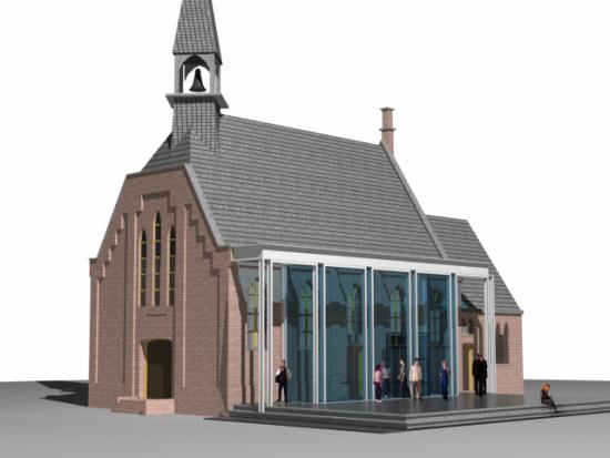 Verbouw kerk te Ankeveen