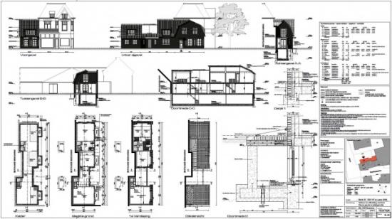 Nieuwbouw woonhuis Brink Laren