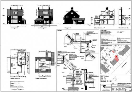 Uitbouw woning te Bussum
