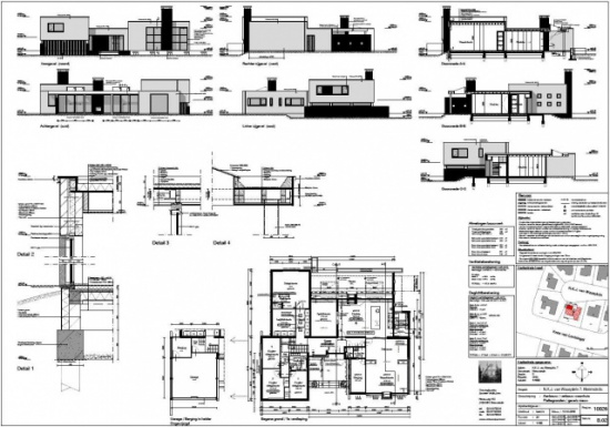 Verbouw - uitbouw woonhuis te Heemstede